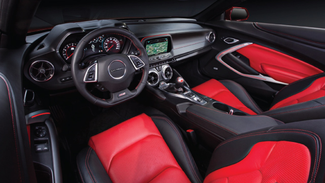 Chevrolet Camaro Interior