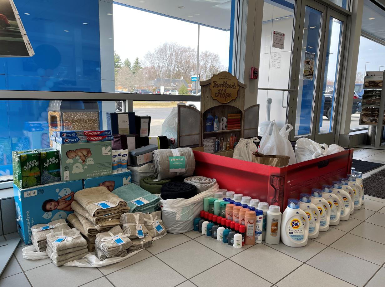 Donations At Heidebreicht Chevy In Washington, MI